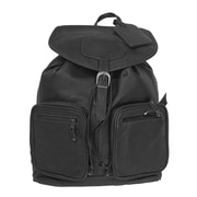 Canyon Outback Leather Grand Canyon Leather Computer Backpack; Black