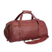 Canyon Outback Leather Marble Canyon 23'' Travel Duffel; Brick Red
