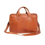 Canyon Outback Leather Buffalo Valley Leather Briefcase; Tan