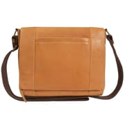Canyon Outback Leather Gem Leather Flapover Messenger Bag