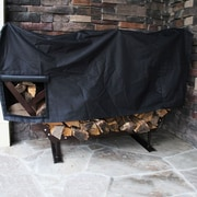 King Canopy FireKing Modern Firewood Fire Pit Log Rack; Medium