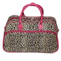 All-Seasons 21'' Carry-On Duffel; Pink