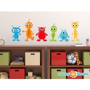 Sunny Decals Alien Fabric Wall Decal; Large