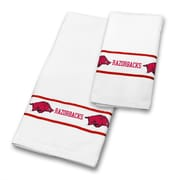 Sports Coverage Arkansas University 2 Piece Towel Set