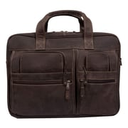 Canyon Outback Leather Casa Grande Leather Computer Bag; Brown