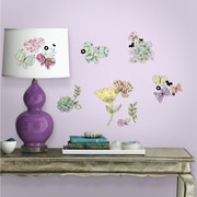 Room Mates Pastel Floral Wall Decal