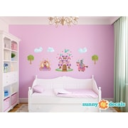 Sunny Decals Princess Fabric Wall Decal; Standard