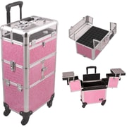Sunrise Cases Professional Cosmetic Makeup Train Case