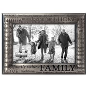 Malden 4'' x 6'' Family Modern Words Picture Frame