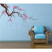 Pop Decors Beautiful Plum Blossom Removable Vinyl Art Wall Decal