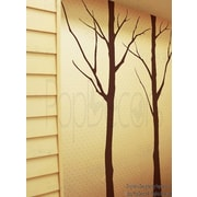 Pop Decors Two Big Winter Cool Tree Wall Decal