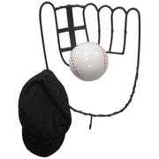 Metrotex Designs Hall of Fame Baseball Glove Coat Rack w/ Ball