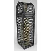 Metrotex Designs Industrial Evolution 1 Bottle Tabletop Wine Cabinet