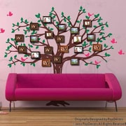 Pop Decors Family Photo Tree Wall Decal
