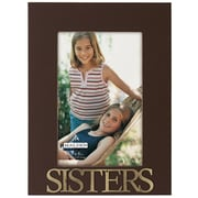 Malden 4'' x 6'' Sisters Rustic Nails Picture Frame