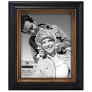 Malden Two Tone Walnut Picture Frame; 8'' x 10''