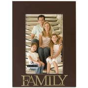 Malden 4'' x 6'' Family Rustic Nails Picture Frame