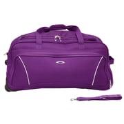 Kemyer 26'' 2 Wheeled Duffle Bag; Purple