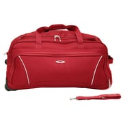 Kemyer 26'' 2 Wheeled Duffle Bag; Red