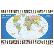National Geographic Maps The World for Kids Map