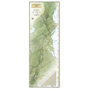 National Geographic Maps Appalachian Trail Laminated Map