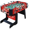 Playcraft Sport Foosball Table with Folding Leg; Red