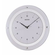 Seiko 12.6'' Dial Wall Clock; White