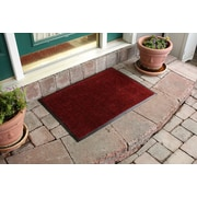 Bungalow Flooring Aqua Shield Dirt Stopper Supreme Doormat; Red Pepper
