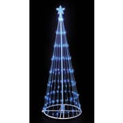 Kringle Traditions 9' LED Lightshow Tree; Blue