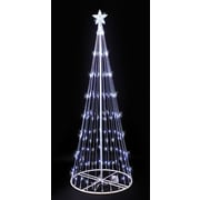 Kringle Traditions 9' LED Lightshow Tree; White