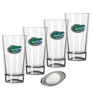 Kraftware Collegiate 16 Oz. Pint Sports Glasses (Set of 4); Florida
