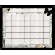 PTM Images News Wall Mounted Calendar/Planner Whiteboard, 2' x 2'
