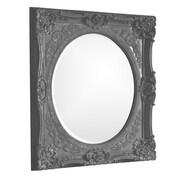 Howard Elliott Monique Mirror; Charcoal Gray