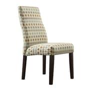 Kingstown Home Kalani Wave Back Parsons Chair II (Set of 2)