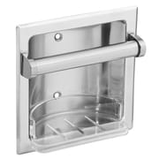Donner Bath Furnishings Recessed Fixtures Soap Holder in Triple Plated Polished Chrome