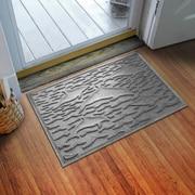 Bungalow Flooring Aqua Shield Statement of Porpoise Doormat; Medium Gray