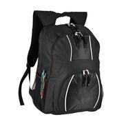 World Traveler Spiffy 17'' Laptop Backpack; Black