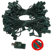 Kringle Traditions E17 Intermediate Light Stringer 7 Amp 12'' Lead; Green