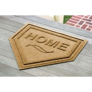 Bungalow Flooring Aqua Shield Home Plate Mat; Gold