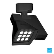 WAC Logos 23W 4000K Elliptical LED Track Fixture; Black