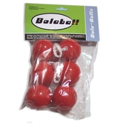 Bolaball Extra Replacement Ball (Set of 6); Red