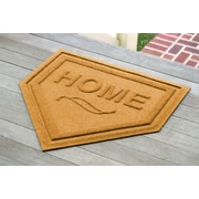 Bungalow Flooring Aqua Shield Home Plate Mat; Yellow