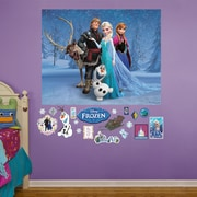 Fathead RealBig Disney Frozen Group Wall Decal