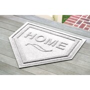 Bungalow Flooring Aqua Shield Home Plate Mat; White