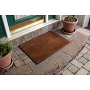 Bungalow Flooring Aqua Shield Dirt Stopper Supreme Doormat; Golden Brown