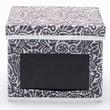 nexxt Design Write On Gray Printed Fabric Storage Boxes (Set of 3)