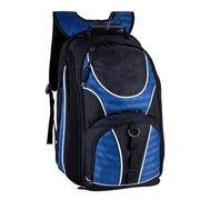 World Traveler 17'' Checkpoint Friendly Laptop Backpack; Blue