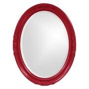 Howard Elliott Queen Ann Mirror; Red