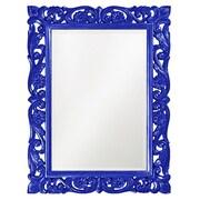 Howard Elliott Chateau Mirror; Royal Blue