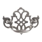 HickoryHardware Manor House Bail Drop Handle; Silver Stone